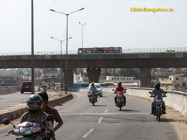 Double- Flyover above a Flyover on Mysore Road