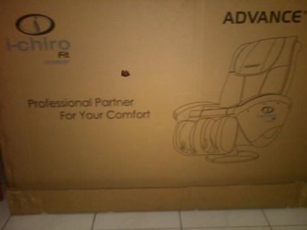 SURABAYA BEKAS: Kursi pijat premium merk Advance i-chiiro Surabaya