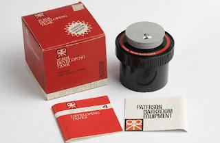 PATERSON 35 mm Entwicklertank. NEU! OVP! Developing tank. NEW! Box + papire