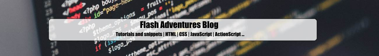 Flash Adventures Blog