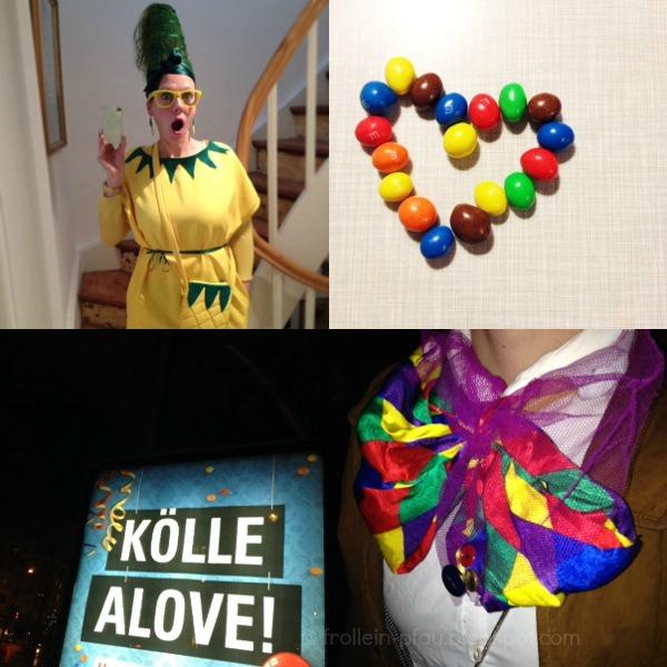 Mmi, Mittwochs mag ich, Karneval, Köln, Ananas Kostüm, Alaaf