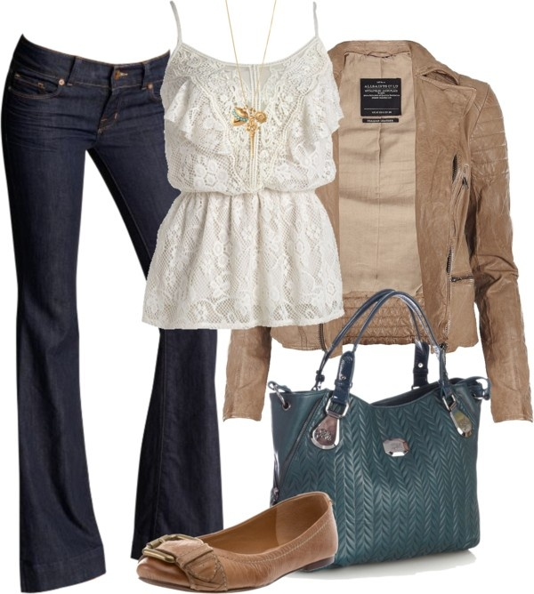 Stylish casual winter outfit fashion