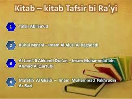 makalah tentang Tafsir Bi Ar-Ra'yi