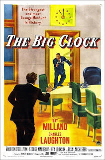 El reloj asesino | 1948 |  The Big Clock | Cartel de cine