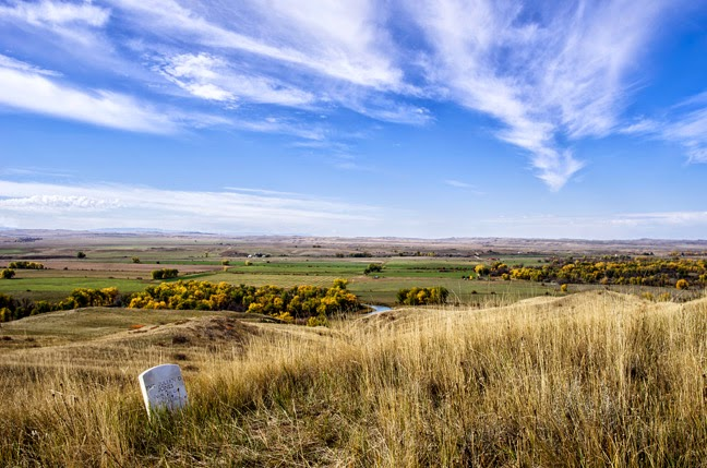 Little Big Horn Battlefield National Monument.