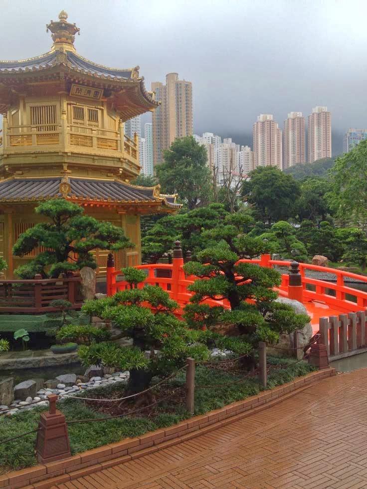 Beautiful Garden in Hong Kong