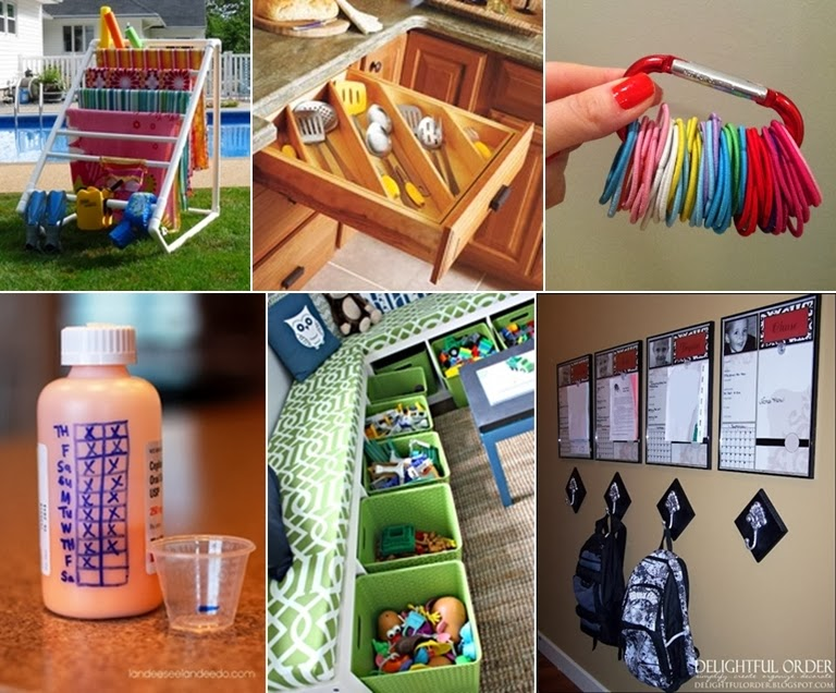 30 organization tips tricks and ideas that will make you for Home building tips and tricks