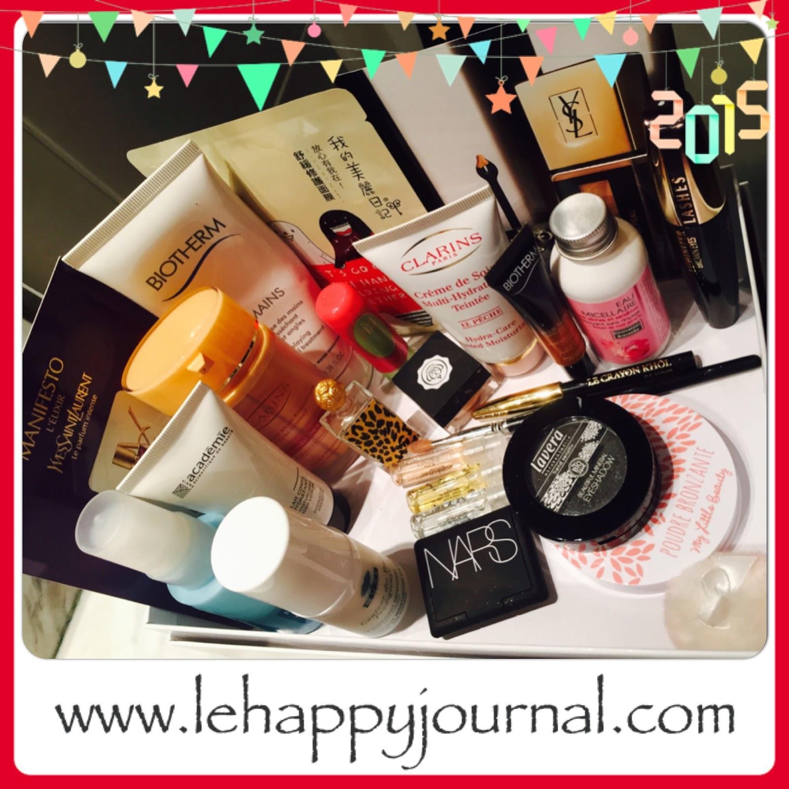 rotation, beauté, produits, semaine 1, revue, blogueuse beauté, opinion, avis, test, happy journal