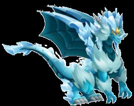 imagen del dragon hielo doble de dragon city