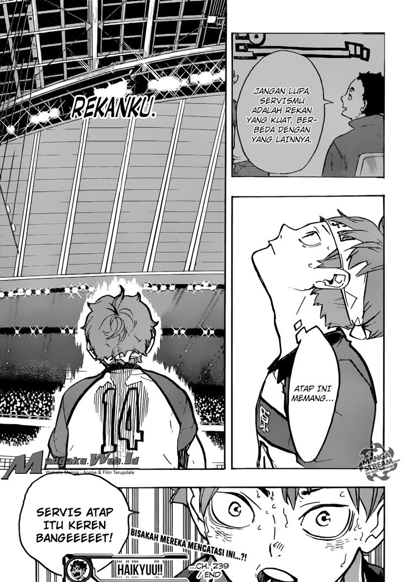 Haikyuu!! Chapter 239-17