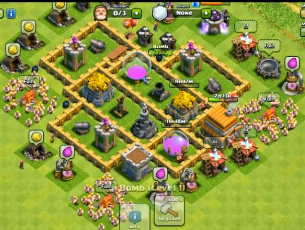 Best Tips Clash Of Clans : Defense TH 5 C.O.C