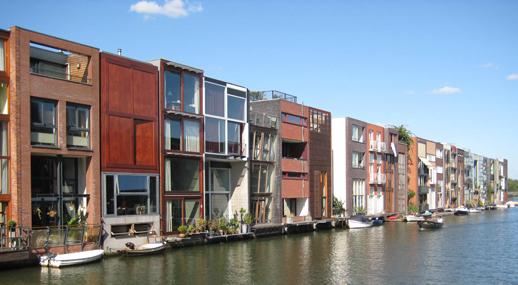 Viviendas de diseño. Isla de Borneo - Amsterdam - Holanda