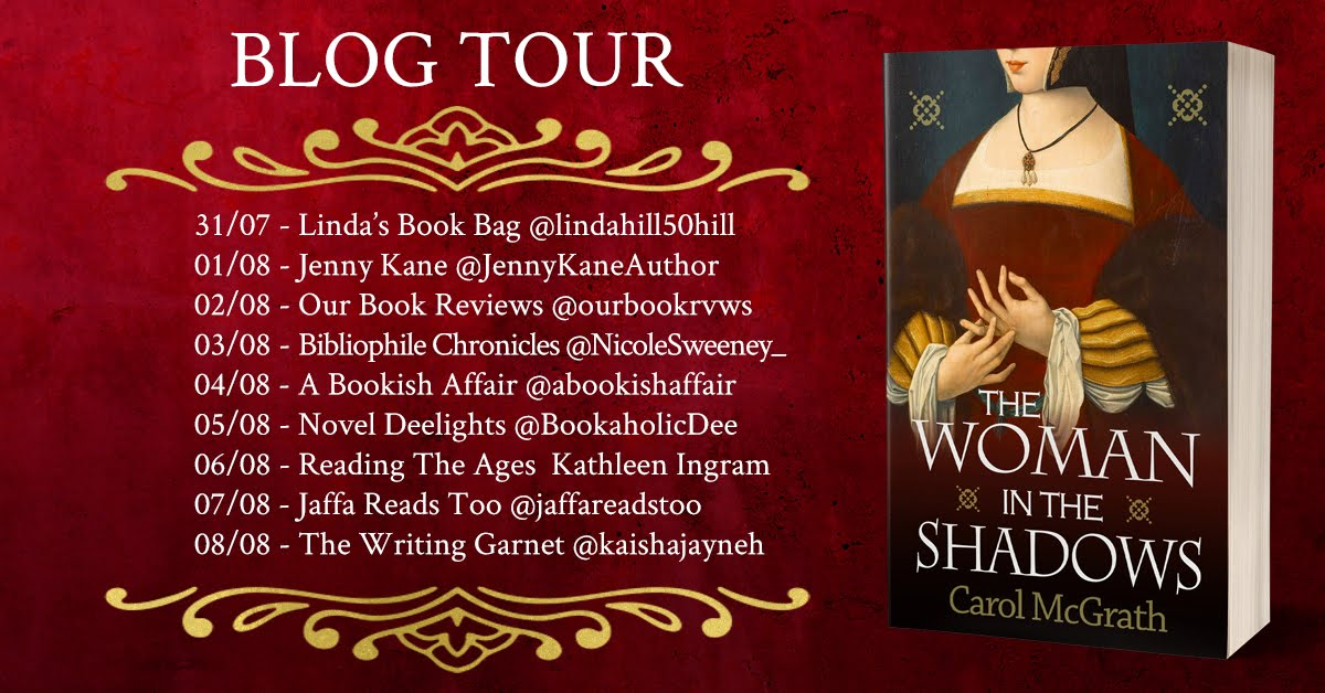 The Woman in the Shadows Blog Tour