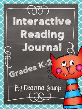 http://www.teacherspayteachers.com/Product/Interactive-Reading-Journal-Notebook-for-K-2-Common-Core-Aligned-858335