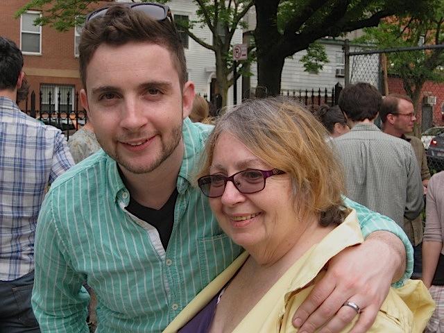 ALBERT & MOM - SOLAR POND