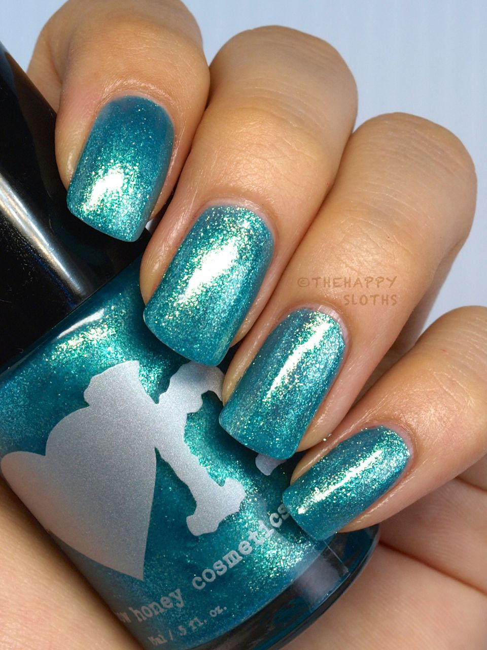 Rainbow Honey Nail Polish Summer Mixtape Collection in Waves Review and Swatches