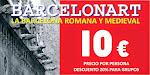"""TRILOGÍA BARCELONA: 1ª RUTA """"LA BARCELONA ROMANA Y MEDIEVAL"""""""