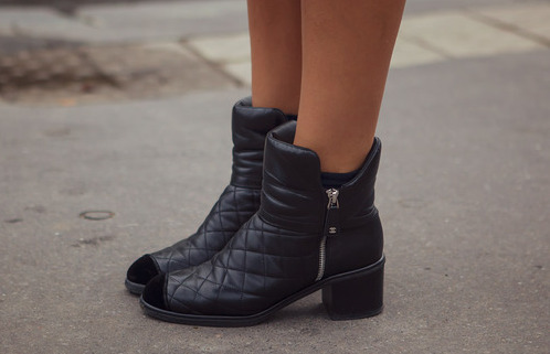 STREET STYLE:BOTAS + COLLAGE