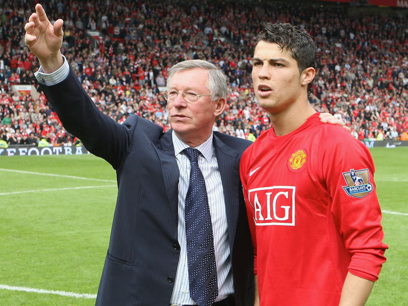 """C. Ronaldo: """"Ferguson è stata la persona più importante della mia vita"""" – Red Army Italy"""