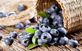 Buah Blueberry, salah satu asupan paling sehat di dunia