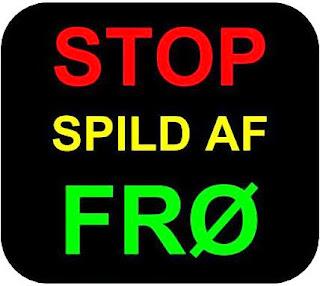 Stop spild af frø - Facebookgruppe