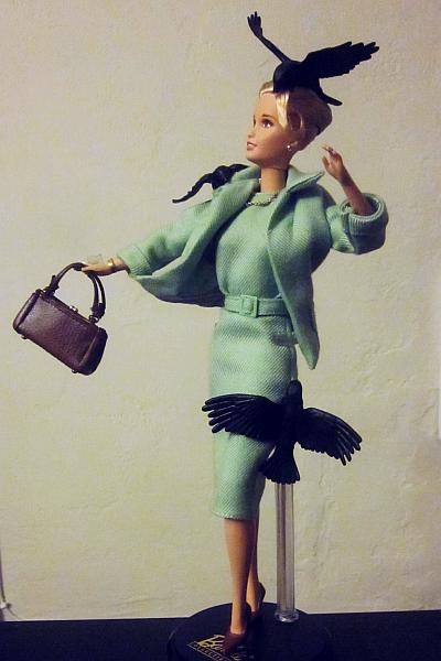 Barbie, Mattel, Tippi Hedron, The Birds, Alfred Hitchcock, 2008