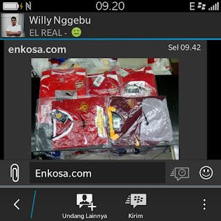 enkosa sport toko online pakaian bola terpercaya loakasi di jakarta barat tanah abang Pesanan jersey Willy Nggebu