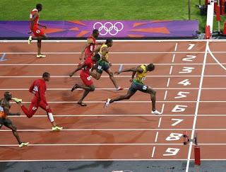 100m Dash Olympics 2012