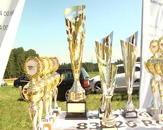 Siegerpokal des Autoslaloms der Rallye Gemeinschaft Rosenheim