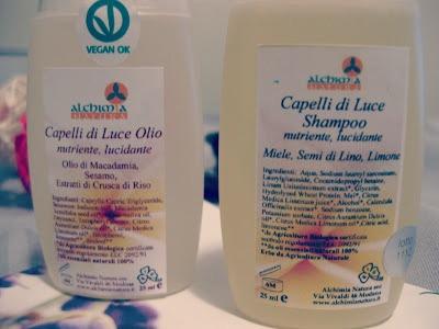 Alchimia natura shampoo capelli di luce - Bagno di luce capelli ...