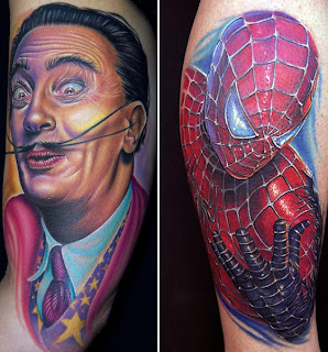 Pictures of the best tattoos in the world
