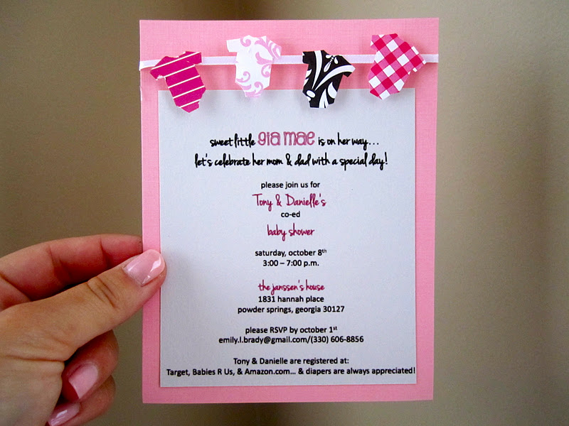 I Thought I Loved You Then Baby Shower The Invitations
