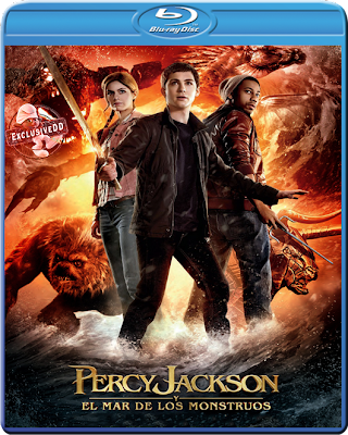 Percy Jackson Mar de los Monstruos (2013) 1080 Latino