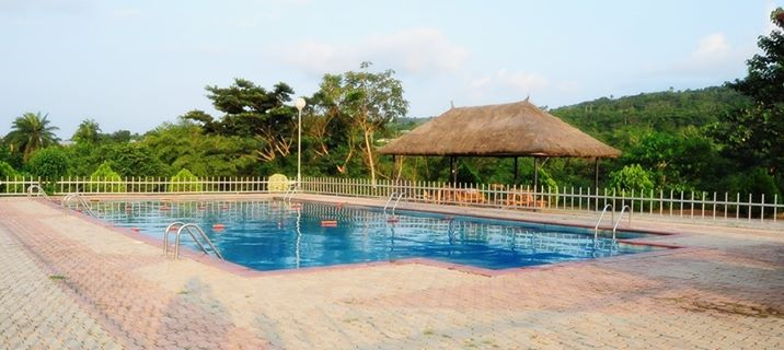 Zenababs Half Moon swimming pool