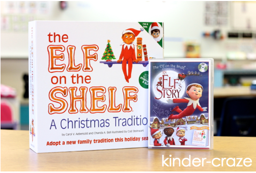 This teacher had great ideas for using an elf in her kindergarten classroom!