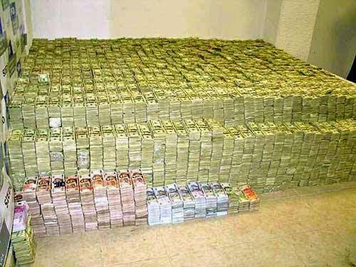 Dinero narcotráfico