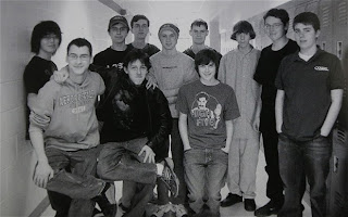 Adam Lanza group photo with friends