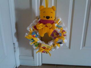 Erratically Elizabeth Diaper Wreaths