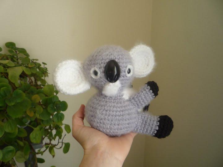 Koala Amigurumi Nose : Sheep Dogs Fleece: Koala