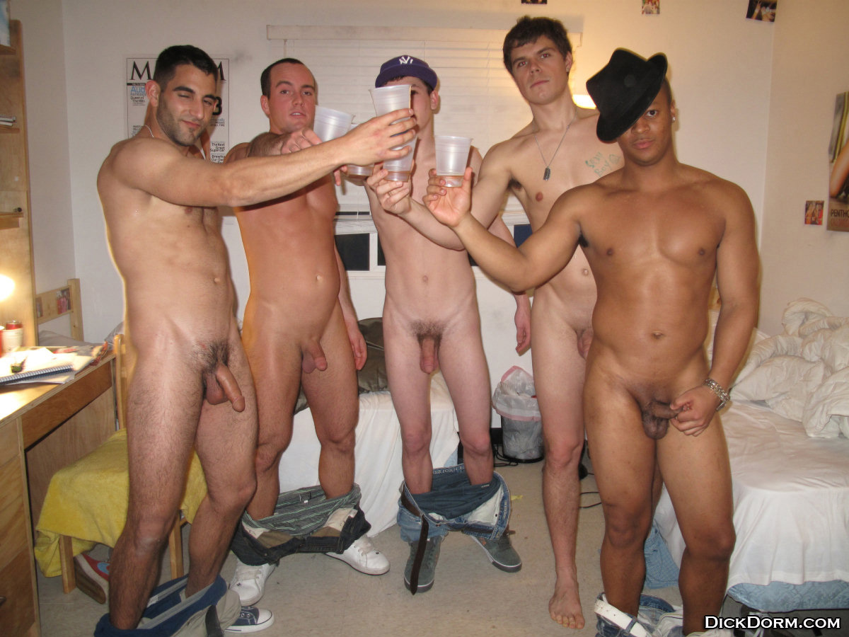 College Guys Naked Together