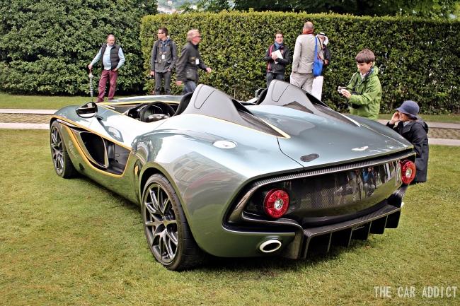 Aston Martin CC100 Concept at Villa d'Este 2013