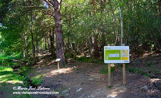 Moncayo AG-2 Itinerario Botánico ruta sendero senderismo