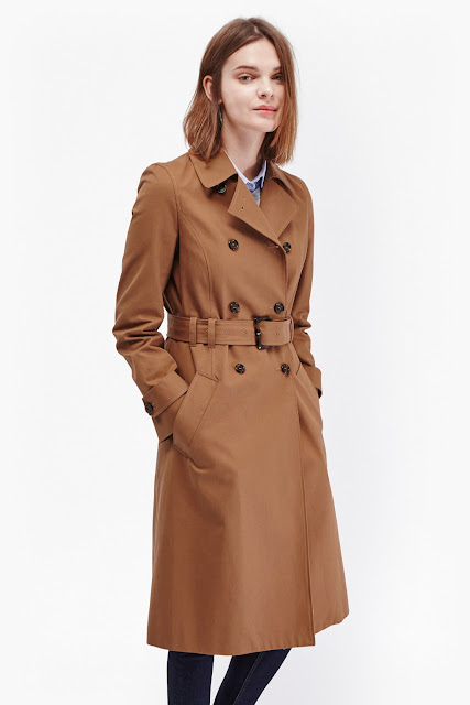 french connection tan trench coat,