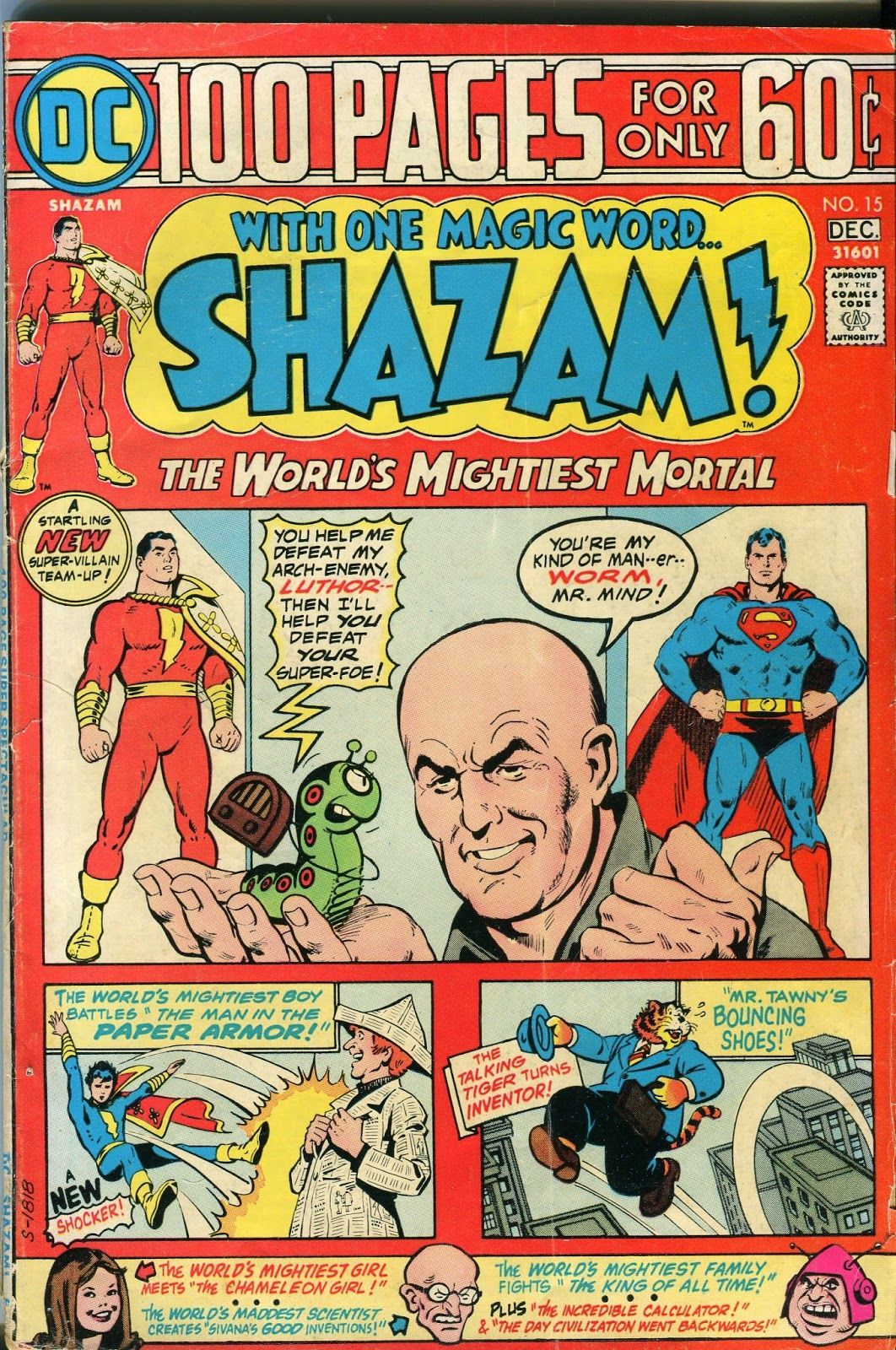 He Knows Superman Is Vulnerable To Magic So He Invents A Magic Accumulator  That Will Store Up Enough Magical Energy To Destroy The Man