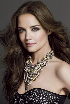 Katie Holmes - Queen of bushy brows now the face of Bobbi Brown