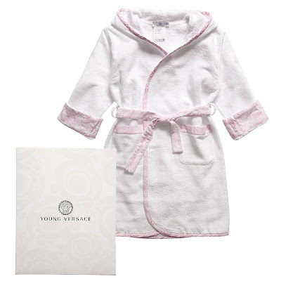 Toddler Girls Bathrobe on Designer Baby  January 2012
