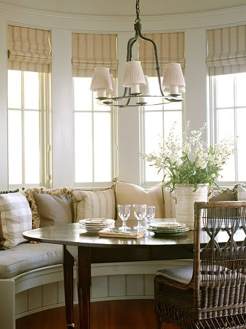 Kitchen Bay Window Decorating Ideas