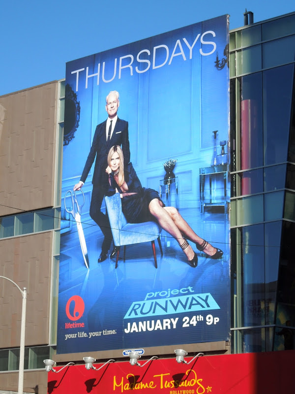 Project Runway Teams season 11 billboard