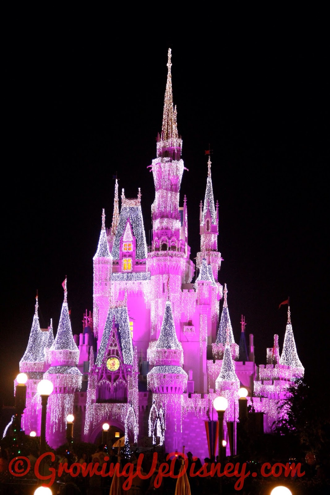 Growing Up Disney Photo Flashback Cinderella Castle Dream Lights
