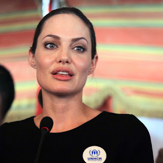 Angelina Jolie in 2013 latest photo